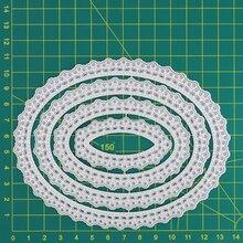 Oval Frames Layering Metal Cutting Dies