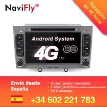 Бесплатная доставка! 7 дюймов android7.1 автомобиля gps навигации автомобиля dvd для peugeot 308 408 FM Bluetooth AVIN бесплатное обновление карты Navitel Европа