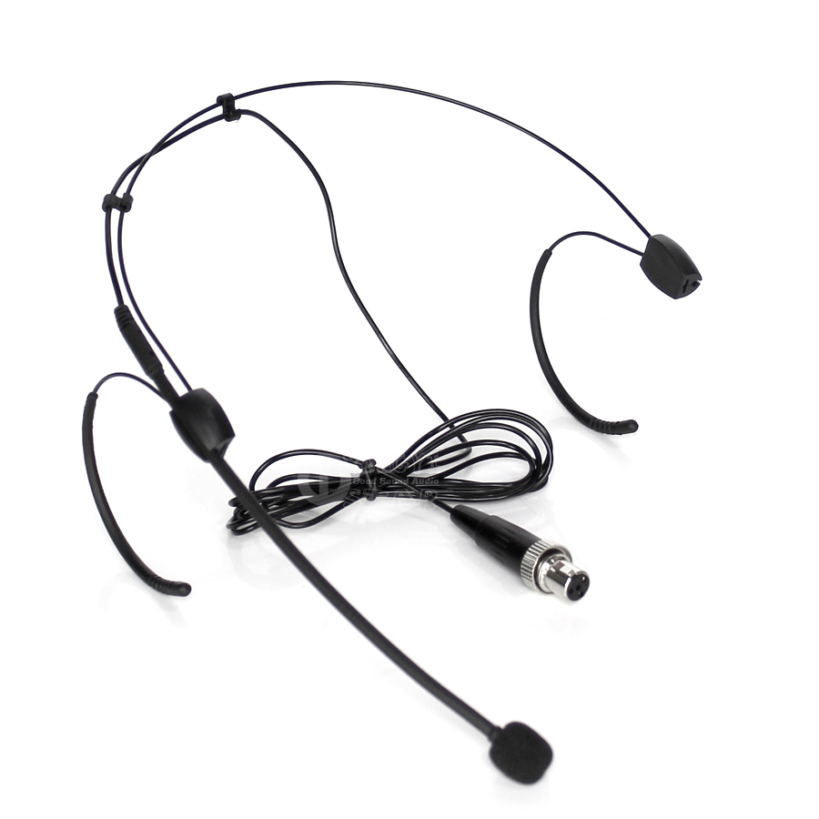 Cheap Price Mini Xlr 4 Pin 4pin Screw Locking Earset Head-mounted Mic Headset Microphone Mike For Mipro Wireless System Bodypack Transmitter Discounts Sale Consumer Electronics
