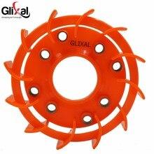 Glixal GY6 50cc 125cc 150cc высокая производительность потока гоночный турбо вентилятор охлаждения для 139QMB 152QMI 157QMJ Скутер мопед ATV Go-Cart