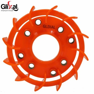 Glixal GY6 50cc 125cc 150cc High Flow Performance Racing TURBO Cooling Fan for 139QMB 152QMI 157QMJ Scooter Moped ATV Go-Cart(China)