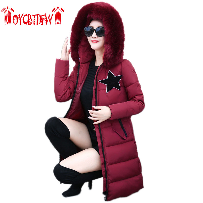 Winter Women Parkas Solid Color Mid-long Section Large Size Thicken Down Cotton Jackets Fashion Hooded Slim Cotton Coats Ly0254 telescope 60az 70400 80eq 90eq 114eq 130eq german imports bard film cover