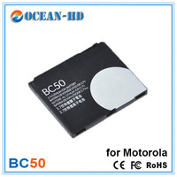 BC50 750mah Capacity Replacement Lithium Mobile Phone Battery For Motorola Z1 Z3 E8 L2 L6 L6i