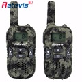 2 Pcs PMR446 Mini Crianças Walkie Talkie Retevis RT33 0.5 W Suporte USB de Carregamento de Rádio Amador Hf Transceptor de Rádio de 2 Vias Para crianças