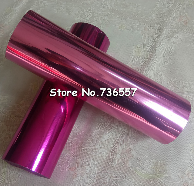 1 roll 21cm light pink rose red hot stamping foil diy gilding paper 1 roll 21cm light pink rose red hot stamping foil diy gilding paper pvc business card reheart Choice Image