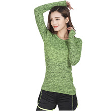 Women Yoga Shirts Quick Dry Long Sleeves Sportswear Yoga Top Gym Running Fitness Sports Tee Ropa Deportiva Workout Shirt