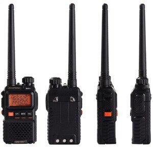 Image 3 - 2 PCS Baofeng UV 3R Plus Mini Walkie Talkie Ham Two Way VHF UHF Radio Station Transceiver Boafeng Scanner Portable Walkie Talkie
