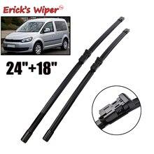 "Erick's Wiper LHD Front Wiper Blades For VW Caddy MK3 2007- Windshield Windscreen Front Window 24""+18"""