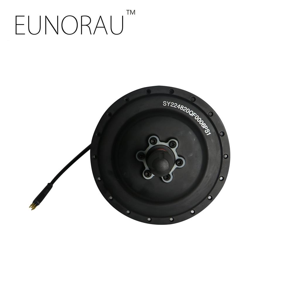 EUNORAU 48V 500W DGW22C electric bicycle rear wheel hub cassette motor 135mm open size for high speed freewheel