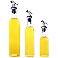 Kitchen Supplies Glass Oiler Seasoning Bottle Vinegar And Oil Bottle Sauce Pot Large Leak Proof Glass