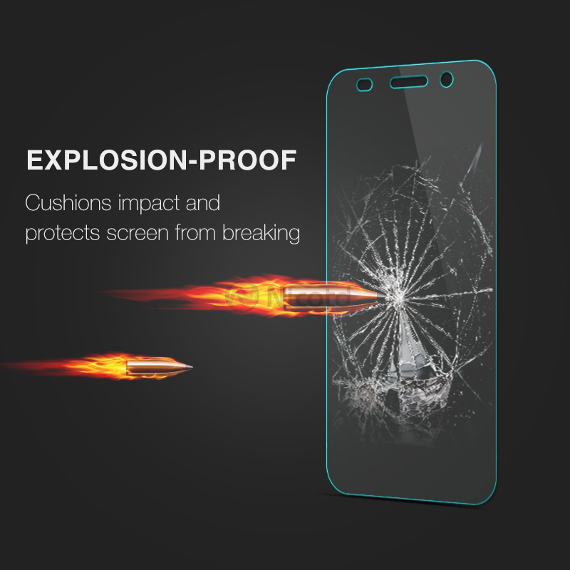 Image 2 - For Huawei Y3 2017 Tempered Glass For Huawei Y3 2017 CRO U00 CRO L02 CRO L22 CRO L03 CRO L23 Screen Protector Protective Film-in Phone Screen Protectors from Cellphones & Telecommunications