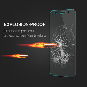 Image 2 - For Huawei Y3 2017 Tempered Glass For Huawei Y3 2017 CRO U00 CRO L02 CRO L22 CRO L03 CRO L23 Screen Protector Protective Film