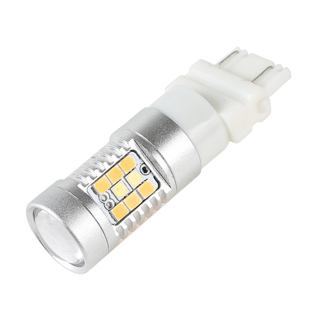 2 ədəd 3157 dönüş siqnal işığının işığı 28 LED ikiqat - Avtomobil işıqları - Fotoqrafiya 4