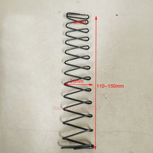 1pcs Carbon steel 1.2*8/26*110mm--150mm Square compression spring 1.2mm wire micro spring compression spring pressure spring