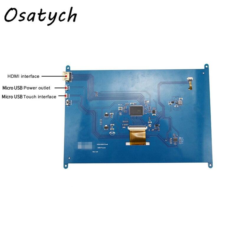 Nouveau 10.1 pouces 1024x600 Raspberry Pi 2 3 B + écran tactile capacitif HDMI LCD affichage