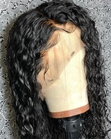Curly Human Hair Wig Brazilian Short Bob Lace Front Human Hair Wigs Pre Pluck Hairline With Baby Hair ZS Weave Beauty full end