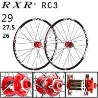 2018 MTB горный велосипед углеродного волокна барабан 26er 27.5er 29er шесть отверстий дисковые тормоза колеса велосипеда 7/11 Скорость оправа сплава к