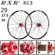 2020 MTB Mountainbike Carbon faser trommel 26er 27,5 er 29er Sechs Löcher Disc Bremse fahrrad Rad 7/11 Geschwindigkeit Legierung felge Laufradsatz