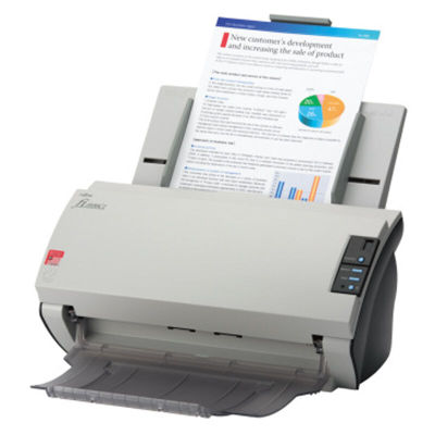 Fujitsu fi-6230z High Speed Color Document Flatbed Pass Through Scanner 6230z