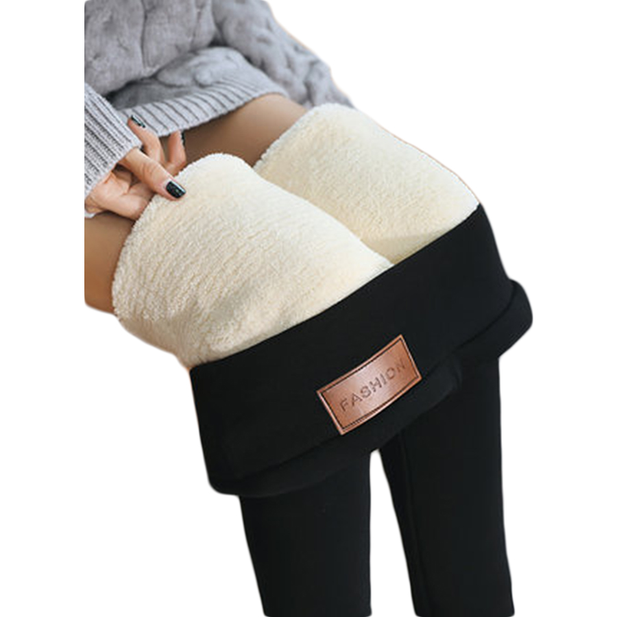 Leggings Femmes D'hiver Taille Haute Velours Coton Plus La Taille Pantalons Chauds Leginsy Sans Soudure Legging Termal Tayt Femme Vêtements QK1