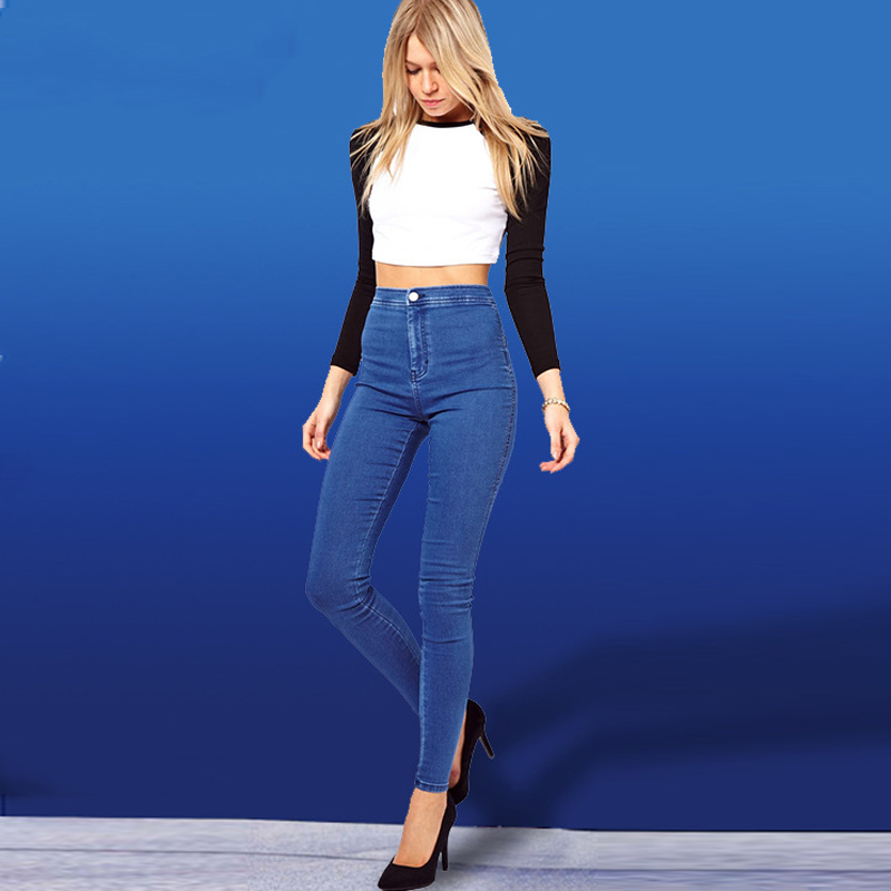 2018 Luxury Brand Big And Tall Womens Pants Wholesale Imported Female Leggings Pencil Pants High Waist Female Trousers New S703 In Pants Capris From