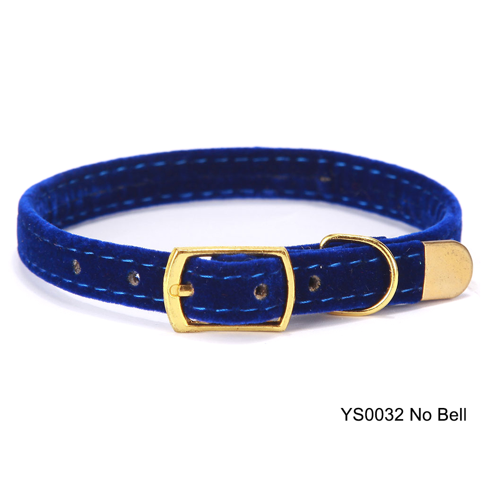 Solid Cat Collar With Bell Safety Cat Collars Adjustable Puppy Dog Collar For Small Dogs Cats Kittens Pet Collar Products YS0032 (11)