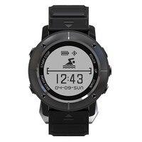 UW80 Outdoor Sport GPS Navigation Smart Watch Heart Rate Monitor Bluetooth Smartwatch Fitness Tracker Compass Altimeter