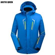 /8 зимняя мужская куртка для сноубординга цветная Толстая Водонепроницаемая Лыжная куртка 4 цвета размер s-xl
