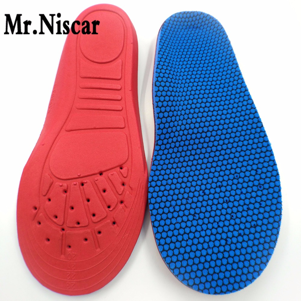 Mr.Niscar Children Flat feet Orthotics Insole Arch Support Breathable Sweat Absorbant Deodorization Shoe Pad Kids Sport Insoles expfoot orthotic arch support shoe pad orthopedic insoles pu insoles for shoes breathable foot pads massage sport insole 045
