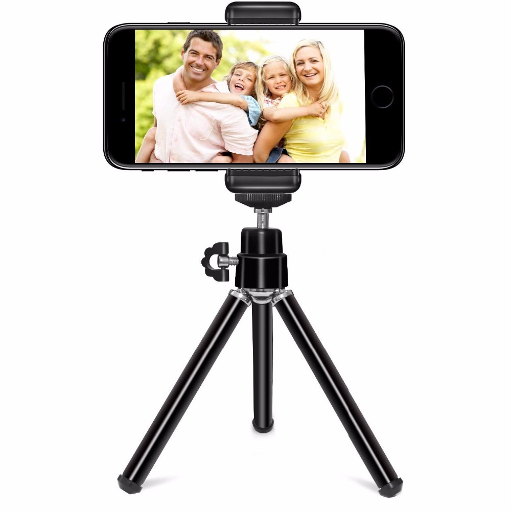 DUSZAKE P11 Extentable Desktop Mini Phone Tripod For Mobile Phone Tripod For IPhone Samsung Xiaomi Camera Mini Tripods For Phone