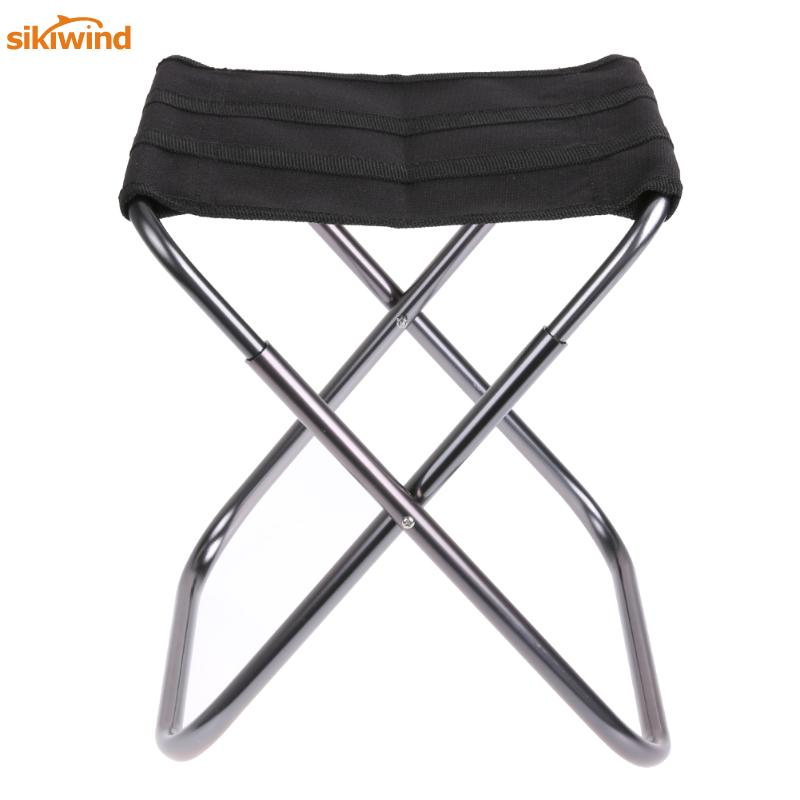 Aluminium Alloy Folding Fishing Seat Stool Portable Foldable Oxford Fishing Chair for Outdoor activities Fishing Picnic BBQ seat oxford cloth lightweight 3 in 1 outdoor portable multifunctional foldable cooler bag chair backpack fishing stool chair