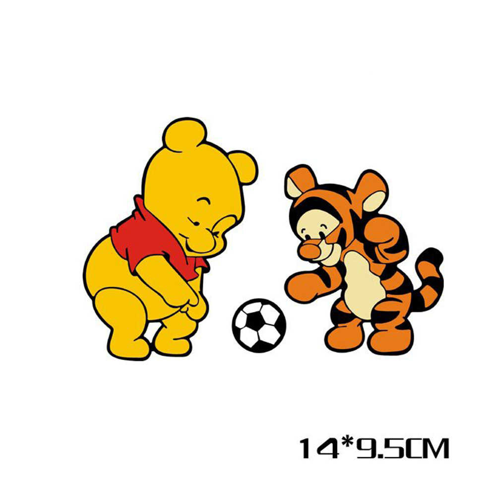 Aliauto カースタイリングと虎再生サッカー漫画のステッカーデカールフォードフォーカスフォルクスワーゲンゴルフプジョー