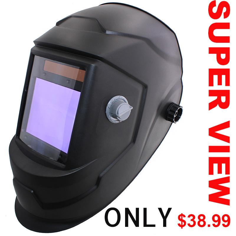 Big View Eara 4 Arc Sensor DIN5-DIN13 Solar Auto Darkening TIG MIG MMA Grinding Welding Mask/Helmet/Welder Cap/Lens/Welder Glass цена