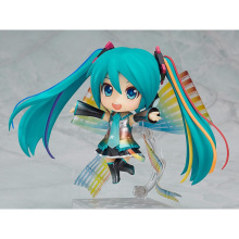 10cm Cute Nendoroid Vocaloid Hatsune Miku 831 Action Figure Model Collection Magical Snow Ver 10th Doll Toys