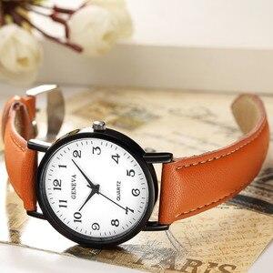 Женские модные спортивные часы из нержавеющей стали, кожаный ремешок, кварцевые наручные часы, бесплатная доставка, Wd3 sea, 2019