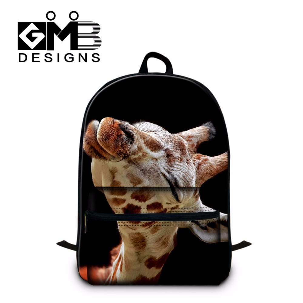 Giraffes Scool Backpacks for Teen Girls Fashion Lightweight Laptop Backpacks for Youth College Bookbags Schoolbags Boys Mochila