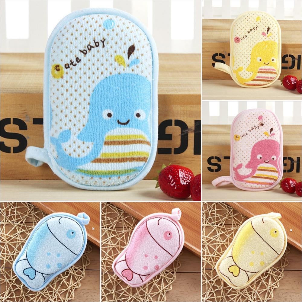 New 1pc Baby bath sponge Infant Loofah drop shipping