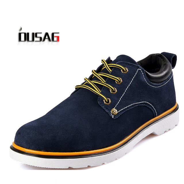 Summer male skateboarding shoes male shoes male the trend breathable fashion nubuck leather casual shoes single shoes