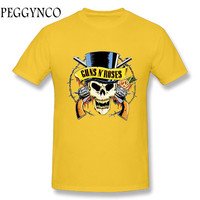 2017 New Arrive Funny Guns N Roses Funny T Shirt For Men