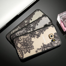Retro Lace Flower Phone Cases For Samsung Galaxy