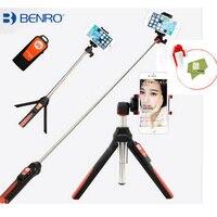 Vitopal BENRO Handheld Tripod 3 In 1 Self Portrait Monopod Phone Selfie Stick Bluetooth Remote Shutter