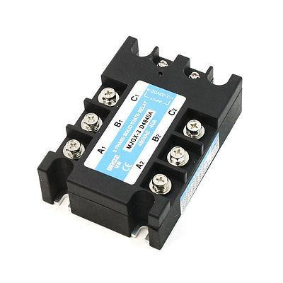 DC to AC Single Phase Solid State Relay MJGX-3 3-32VDC 480VAC 40A normally open single phase solid state relay ssr mgr 1 d48120 120a control dc ac 24 480v