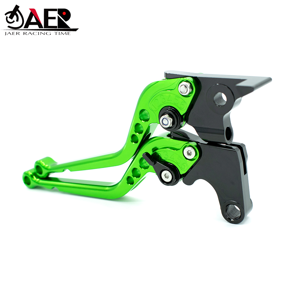JEAR For Kawasaki Z300 Ninja 300R 2013 2014 2015 2016 2017 2018 CNC Motorcycle  Brakes Clutch Levers Top Quality-in Levers, Ropes & Cables from Automobiles & Motorcycles