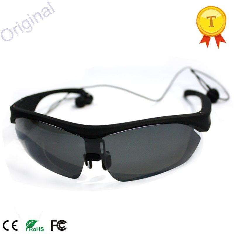 Bluetooth lunettes de Soleil Casque Cuffie Écouteurs Sport Mains Libres Smart  Lunettes Micro Ecouteur Casque Musique Earpods pour iphone dans Écouteurs  et ... cdd43696e316
