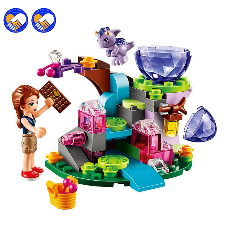 A toy A dream BELA 83pcs Friends Emily Jones & the Baby Wind Dragon Model Building Blocks Toy Compatible With Lepin 41171 Bricks hot nuevo 10415 elfos azari aira naida emily jones cielo fortaleza castillo building block toys
