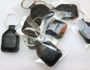 Leather Keychain Keyfobs No Access Keys Rfid Leather Timecard Superior Performance 1 Id Card /id Cell Dermis Key Buckle