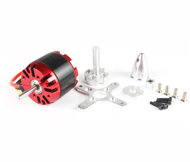 Free Shipping N3530(2808) EMP 1400KV outer rotor brushless motor inverted motor for RC a ...