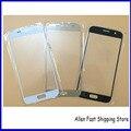 10 шт./лот, Оригинальный переднее стекло для Samsung Galaxy S7 космического стекло экрана замена, Черный / золото / белый