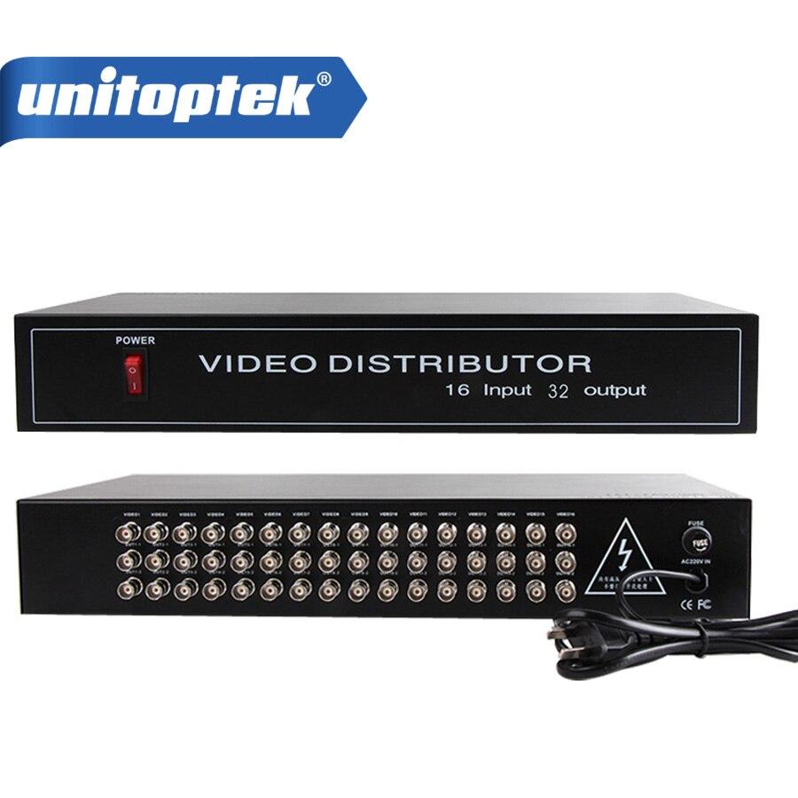 купить 16 to 32CH Video Distributor/Splitter,16CH In,32CH AHD/CVI/TVI CameraBNC Output,Max Up to 600M Distance,Baud Rate 2400/4800/9600 онлайн