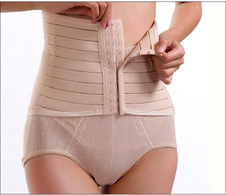 Corps shaper Post partum estomac wrap corset ceinture minceur ceinture pour  le ventre post partum gaines abdomen ventre wrap haute serre taille dans  Sangles ... 31339fba4c5